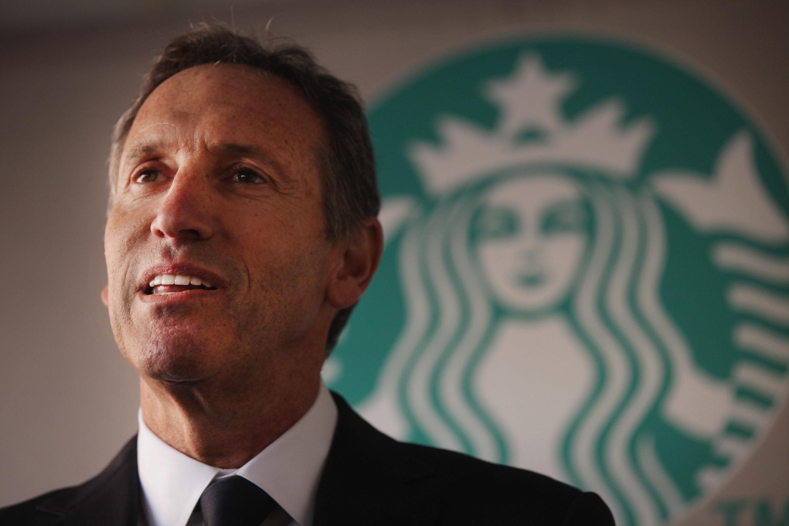 Starbucks CEO Howard Schultz Announces Harlem Community Parternship Program