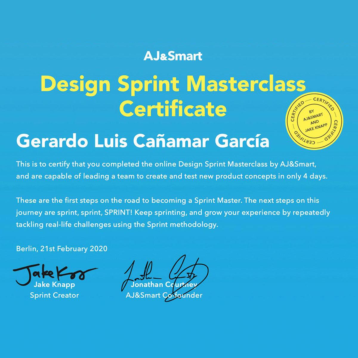 Astrolab: Certificación de Design Sprint — AJ&Smart